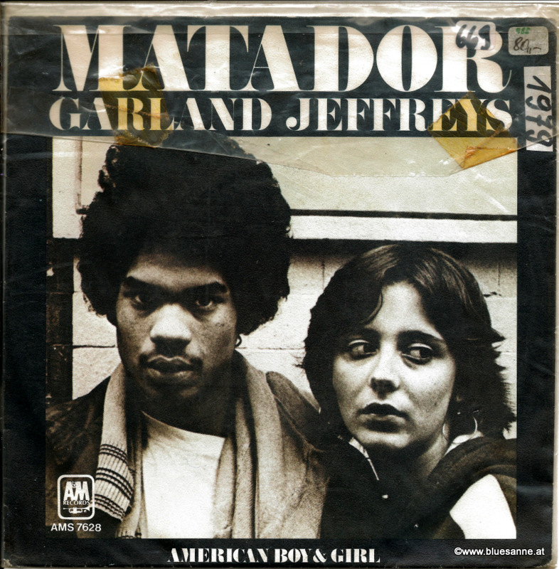 Garland Jeffreys Matador 1979 Single