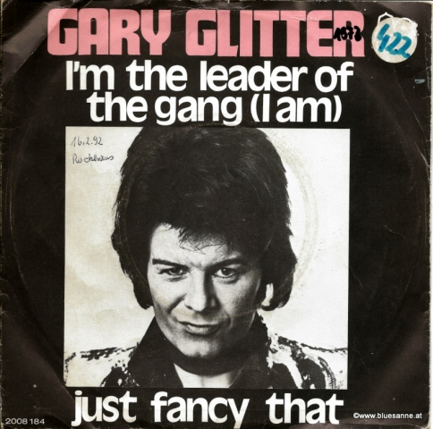 Gary Glitter ‎–I m The Leader Of The Gang 1973 Single