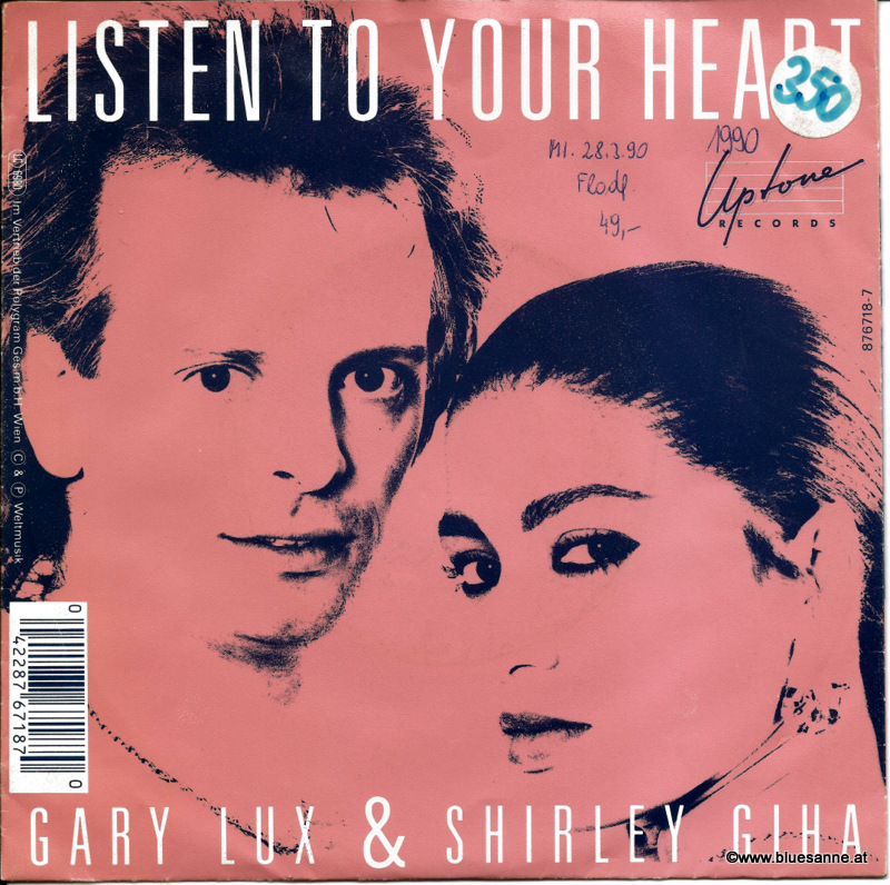 Gary Lux & Shirley Giha ‎– Listen to Your Heart 1990