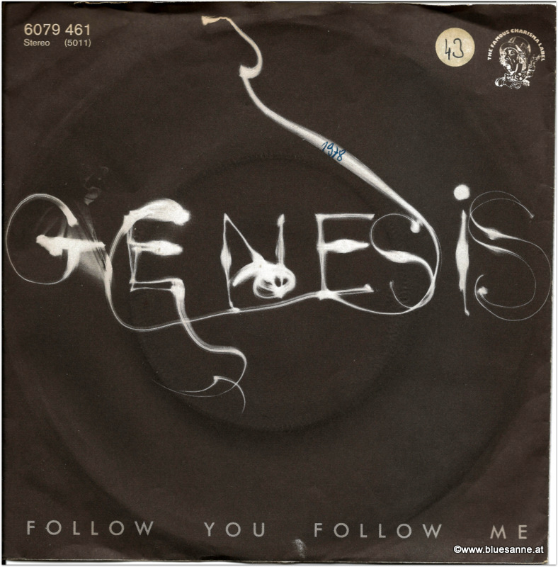 Genesis Follow you 1978 Single
