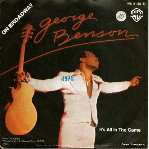 George Benson On Broadway 1978 Single