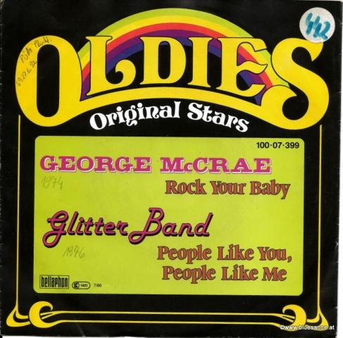 George MCRae Rock your Baby 1974 Single