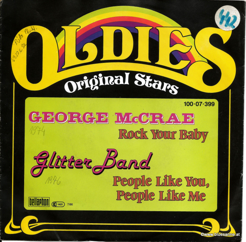 George MCRae Rock your Baby 1974 Single