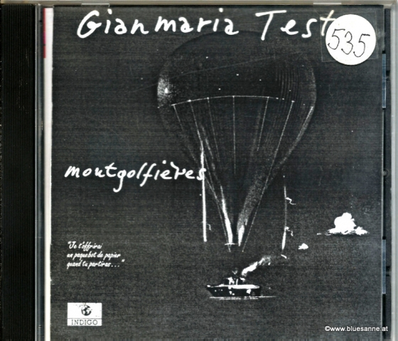Gianmaria Testa – Montgolfières 1995 CD