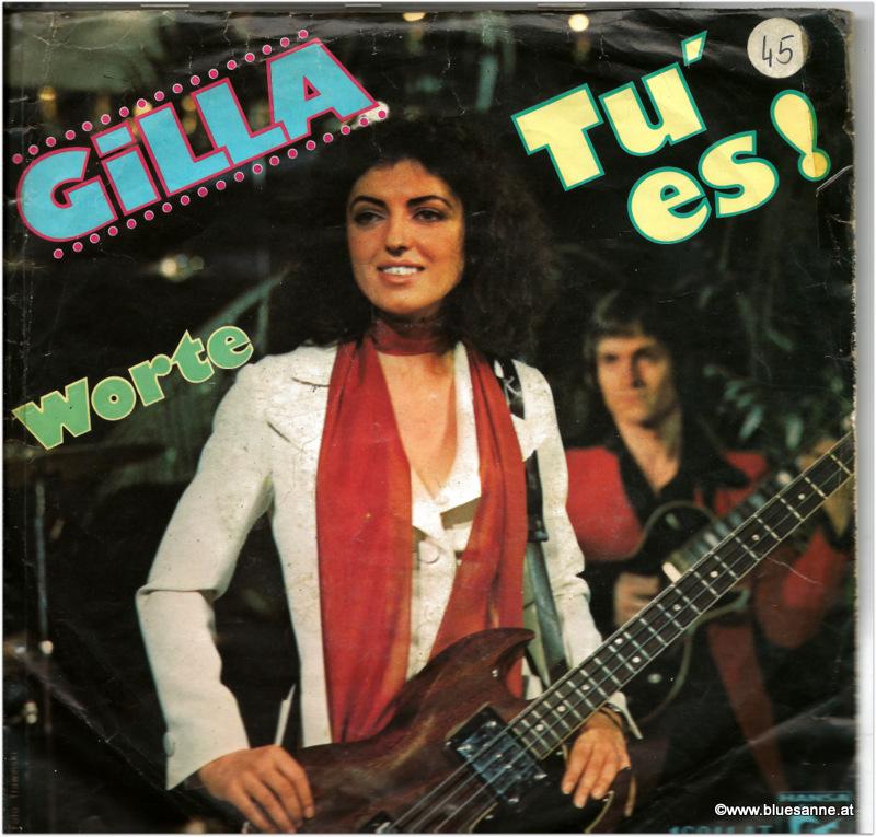Gilla Tu es 1975 Single