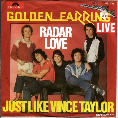 Golden Earring Radar Love 1977 Single