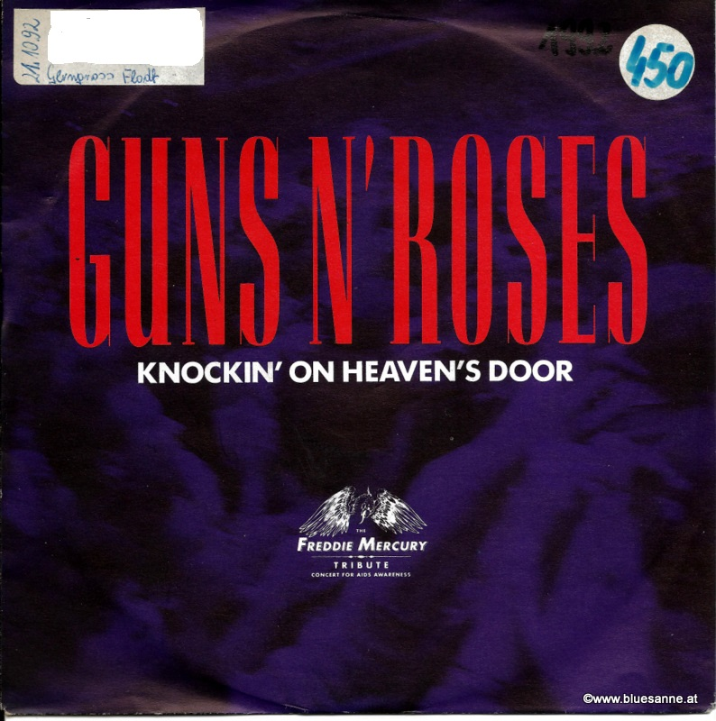Guns N´Roses - Knockin´ on heaven´s door 1992