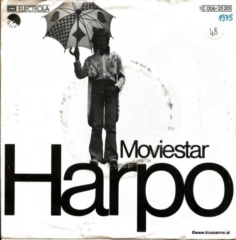 Harpo – Moviestar 1975 Single