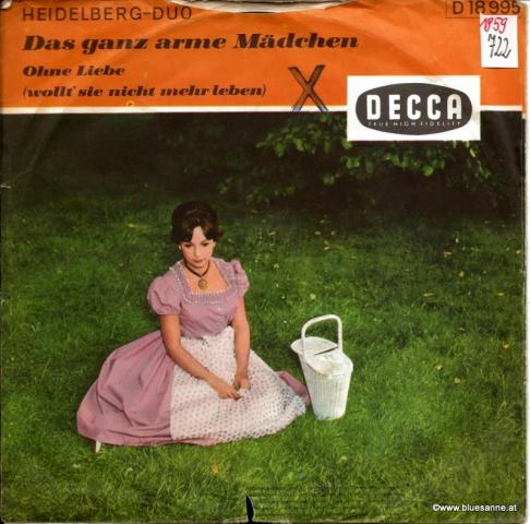 Heidelberg-Duo – Das ganz arme Mädchen 1959