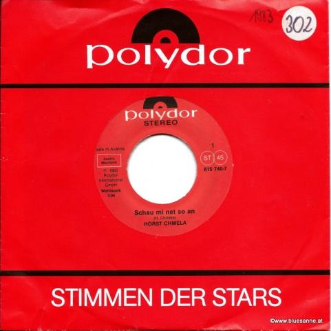 Horst Chmela – Schau mi net so an + Einer hat immer des Bummerl 1983