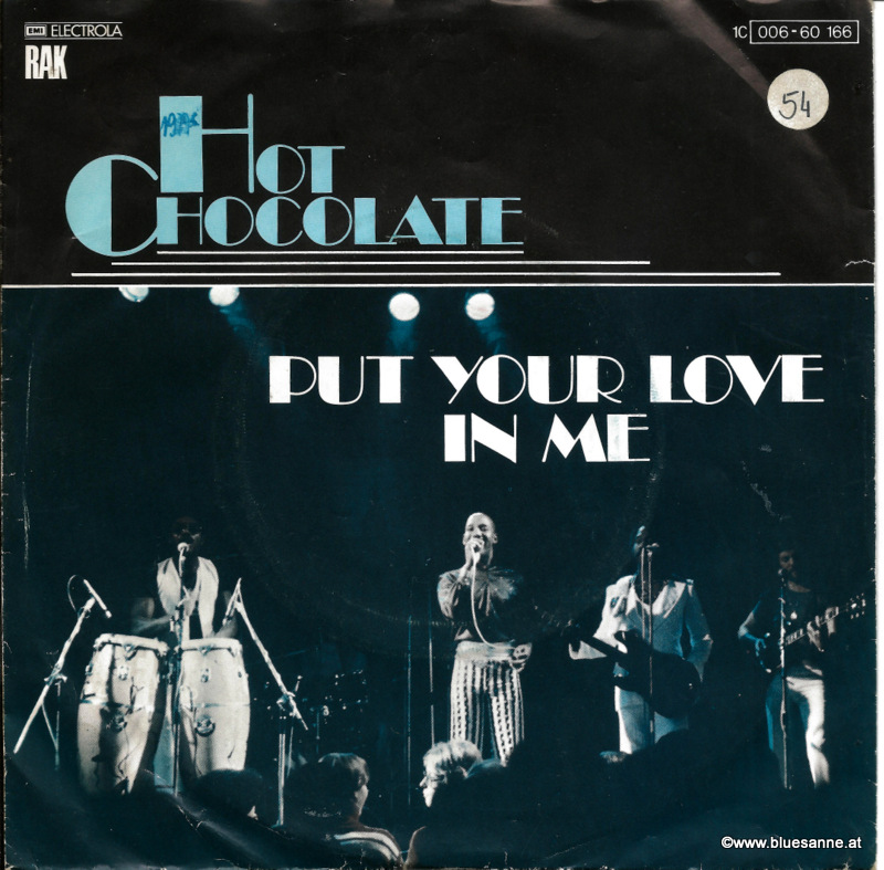 Hot Chocolate - Put your love in me 1977