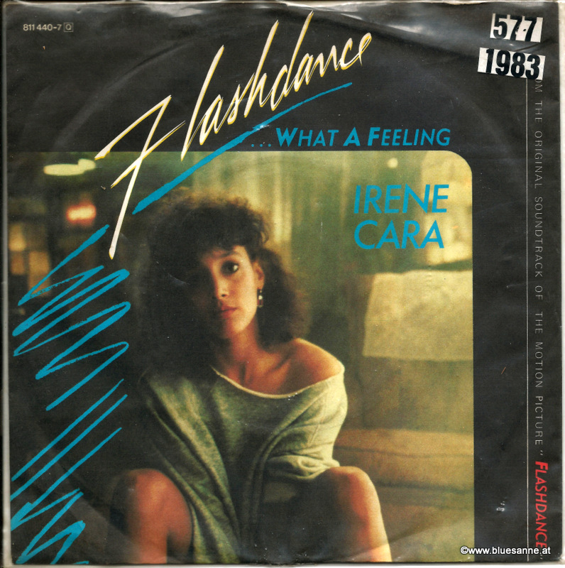 Irene Cara ‎– Flashdance...What A Feeling 1983 Single