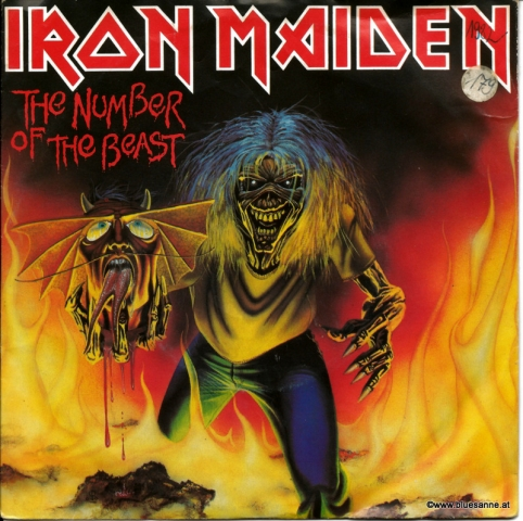Iron Maiden The number of the beast 1982 Single