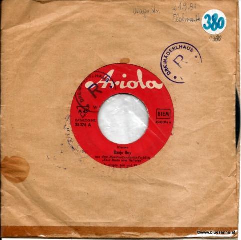 Jan Und Kjeld  – Banjo Boy 1960