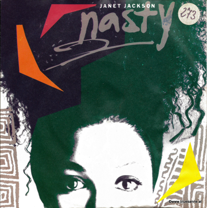Janet Jackson Nasty 1986 Single