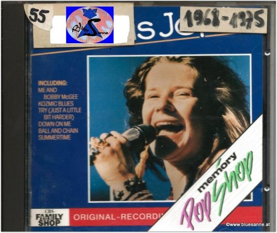Janis Joplin The Very Best Of 1988 CD