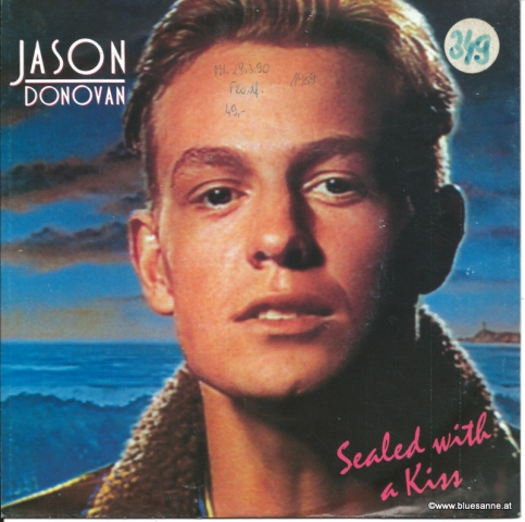 Jason Donovan ‎– Sealed With A Kiss 1989