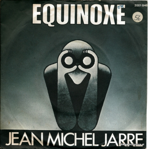 Jean Michel Jarre Equinoxe 1978 Single