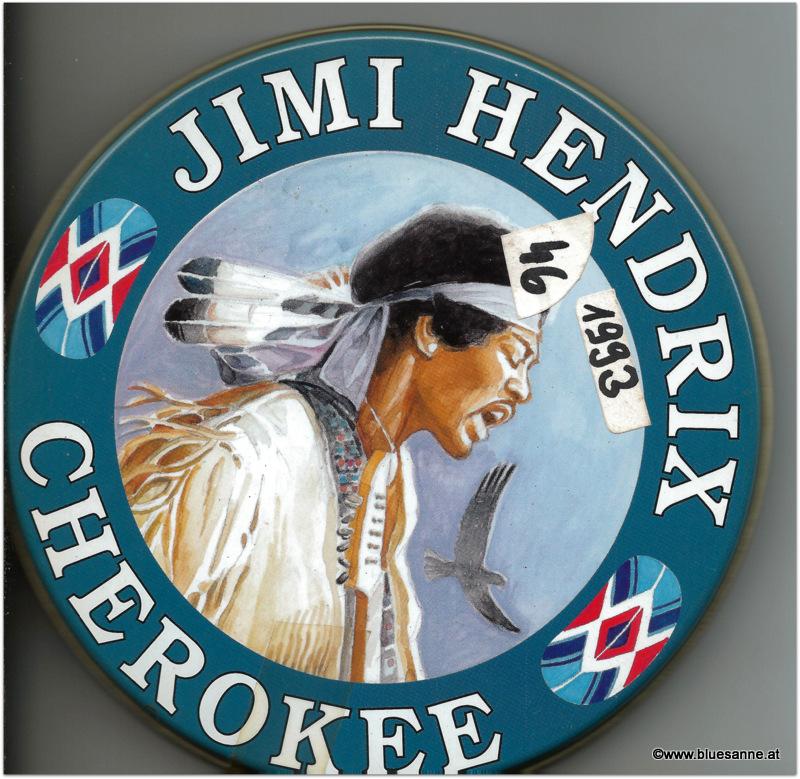Jimi Hendrix Cherokee 1993 CD