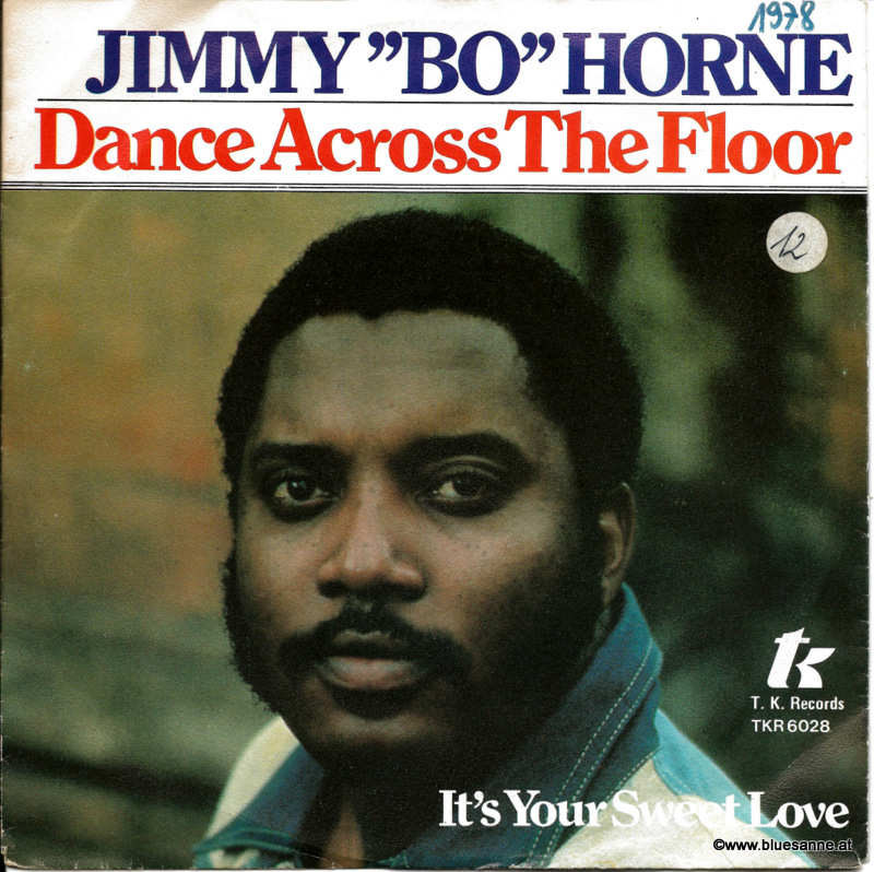 Jimmy Bo Horne ‎– Dance Across The Floor 1978 Single