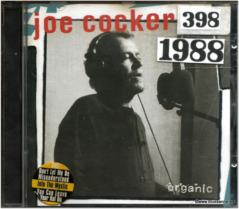 Joe Cocker Organic 1988 CD