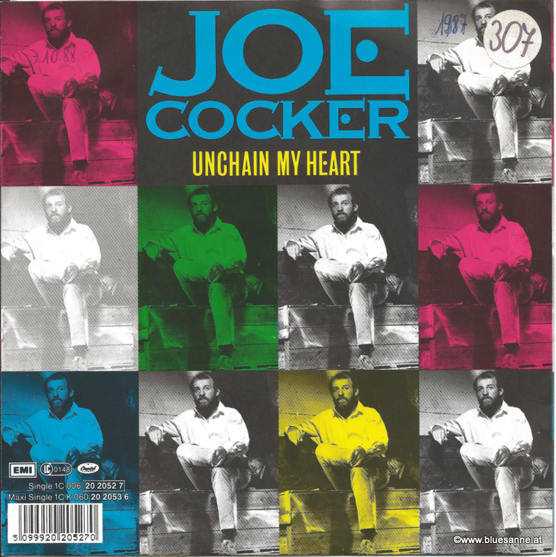 Joe Cocker Unchain my heart 1987 Single