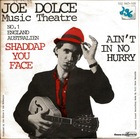 Joe Dolce Music Theatre ‎– Shaddap You Face 1981 Single