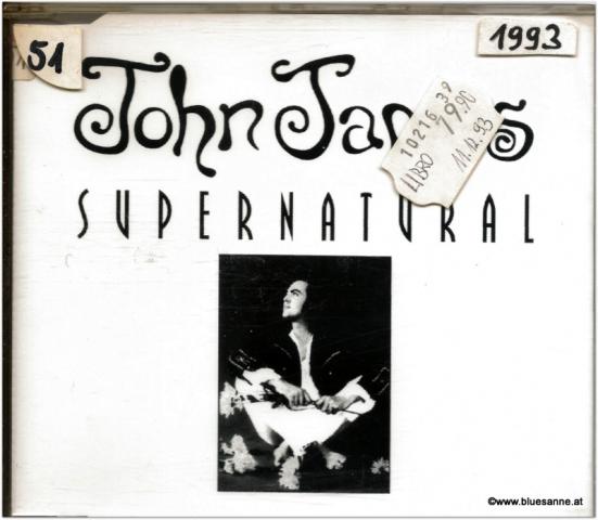 John James Supernatural CDSingle