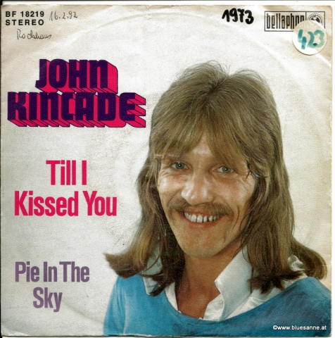 John Kincade Till I kissed you 1973 Single