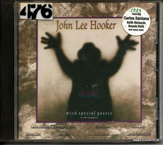 John Lee Hooker The Healer 1989 CD