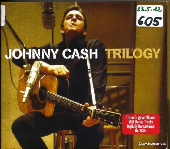 Johnny Cash Trilogy 2010 Dreifach-CD