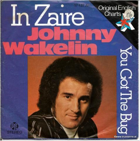 Johnny Wakelin In Zaire 1976 Single