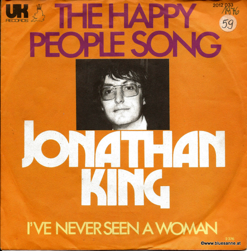 Jonathan King ‎– The Happy People Song 1976