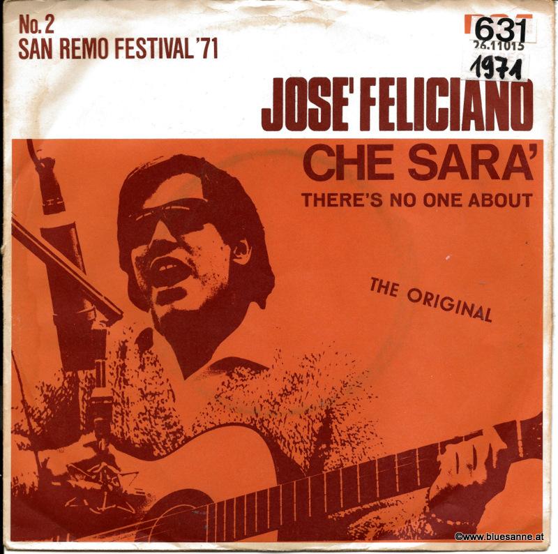 José Feliciano – Che Sara´ 1971