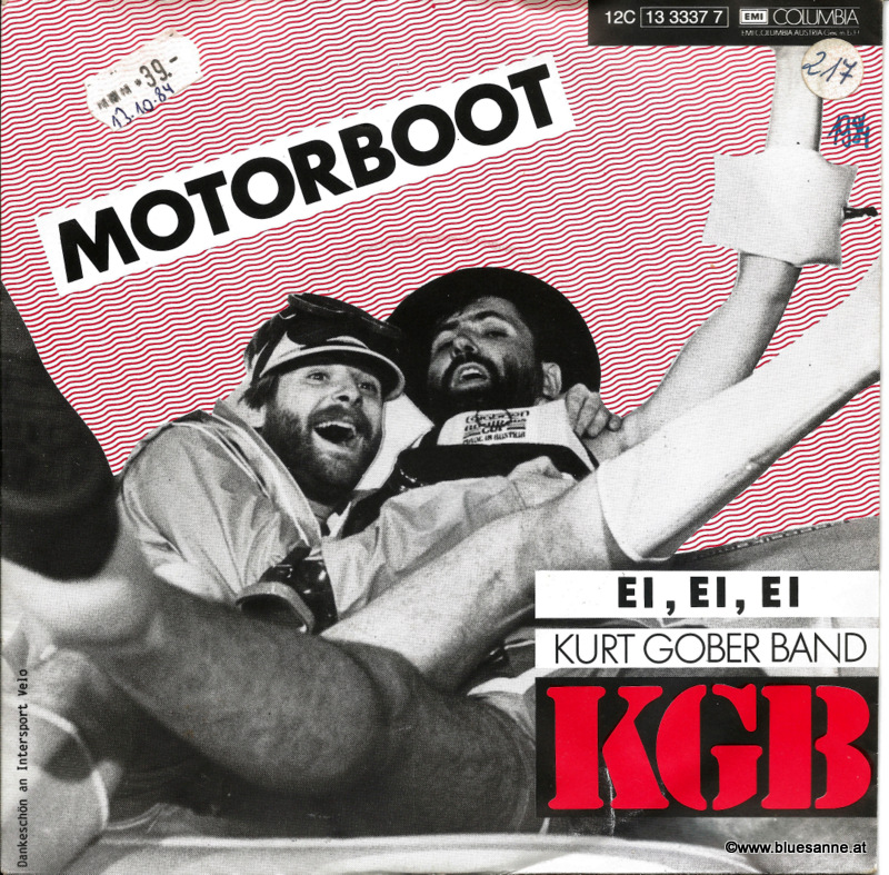 KGB (Kurt Gober Band) – Motorboot 1984