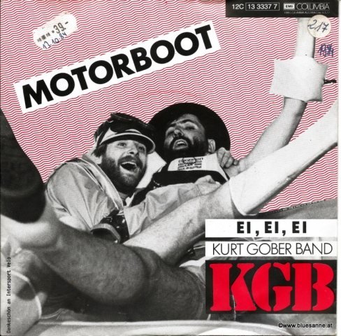 KGB (Kurt Gober Band) ‎– Motorboot 1984