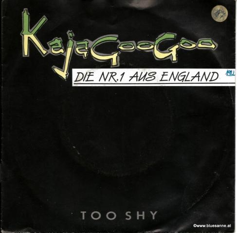 Kajagoogoo – Too Shy 1982 Single