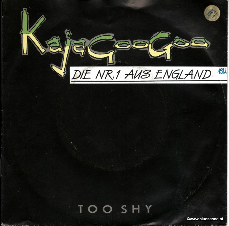 Kajagoogoo ‎– Too Shy 1982 Single