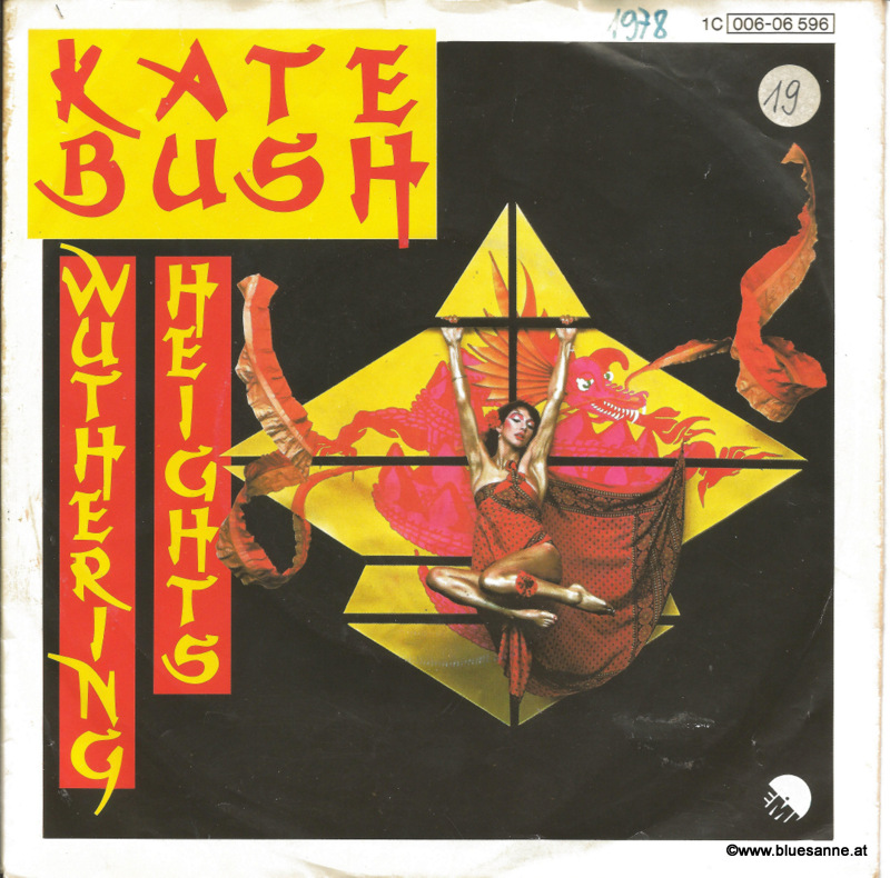 Kate Bush Wuthering Heights 1978 Single
