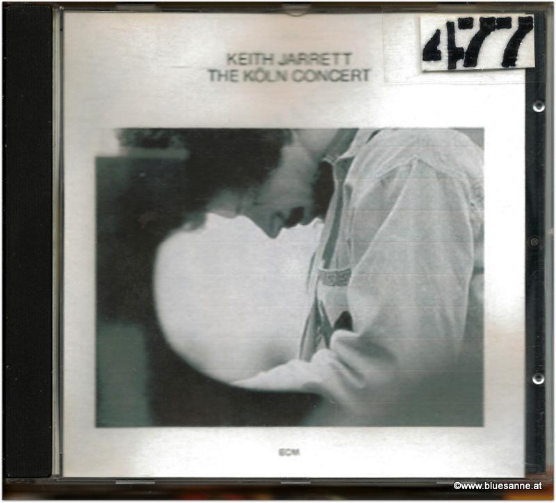 Keith Jarrett The Köln Concert 1975 CD