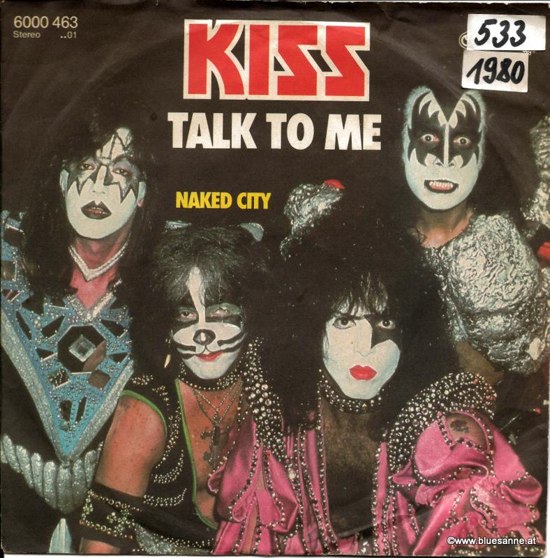 Kiss – Talk To Me 1980