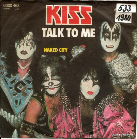 Kiss ‎– Talk To Me 1980