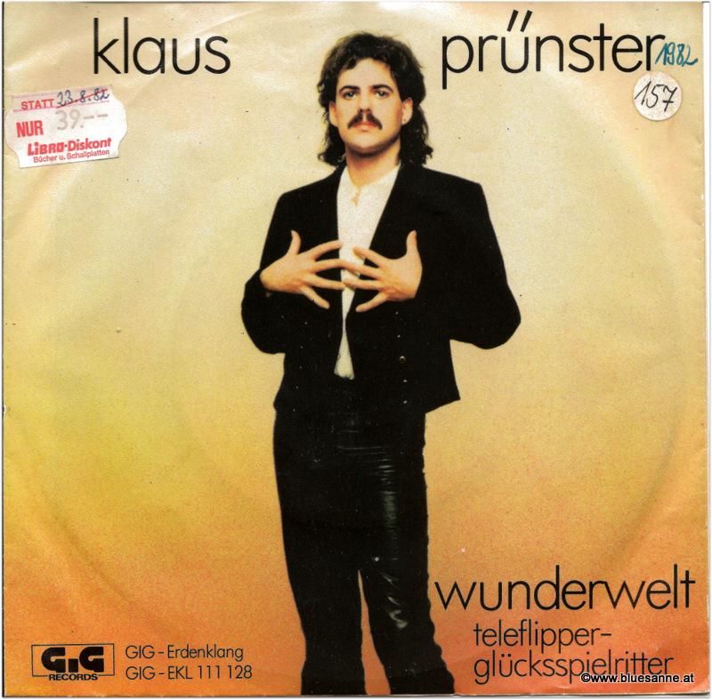Klaus Prünster Wunderwelt 1982 Single