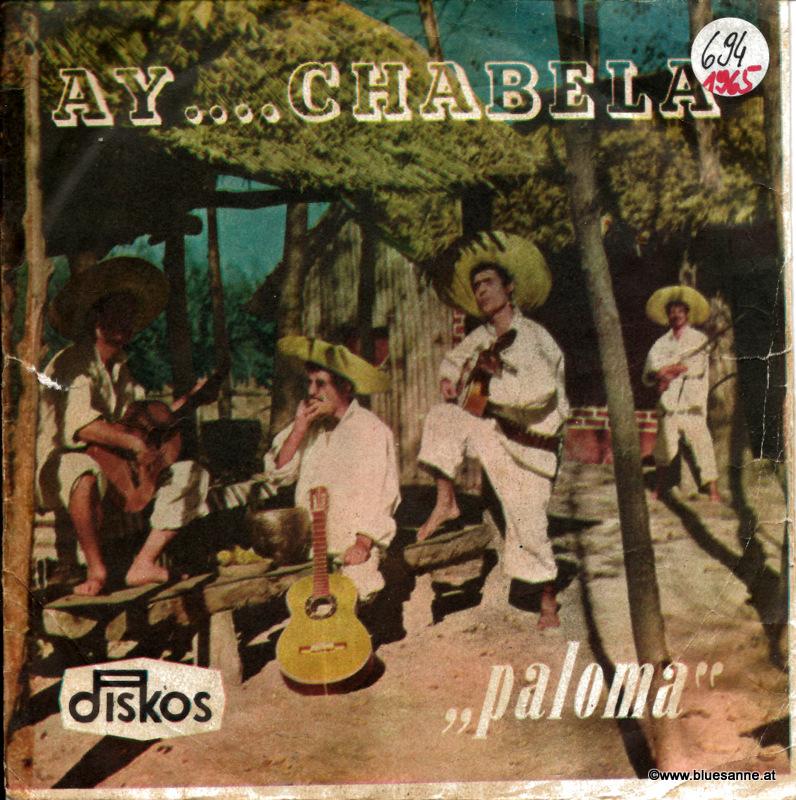 Kvartet Paloma – Ay....Chabela 1965