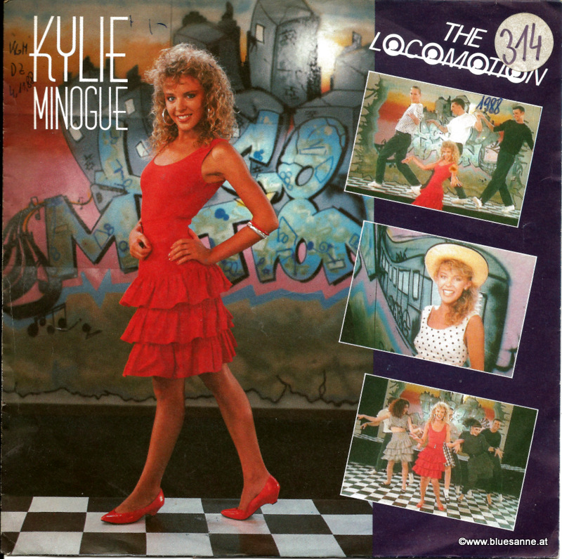 Kylie Minogue ‎– The Loco-Motion 1988
