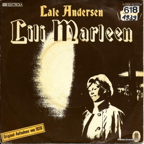 Lale Andersen – Lili Marleen 1939 Single