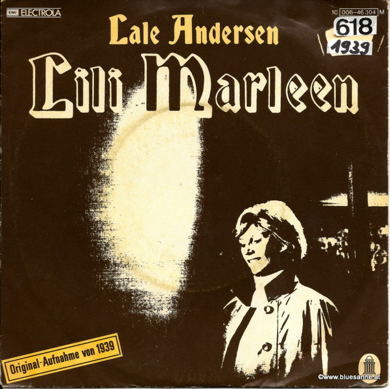 Lale Andersen ‎– Lili Marleen 1939 Single