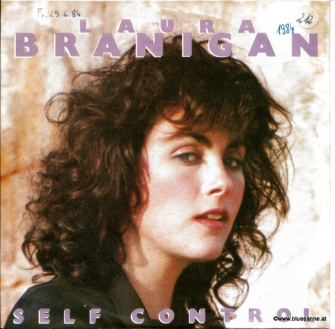 Laura Branigan Self Control 1984 Single