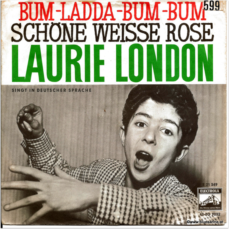 Laurie London Bum Ladda Bum Bum Single