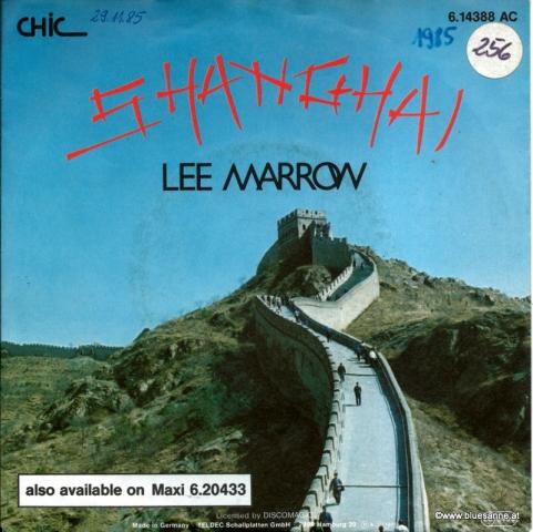 Lee Marrow – Shanghai 1985
